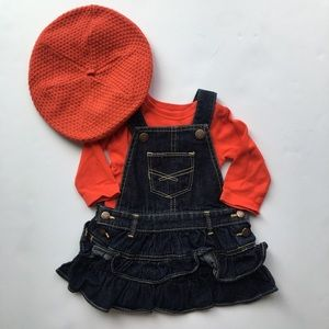 Gap Jeans overall denim dress